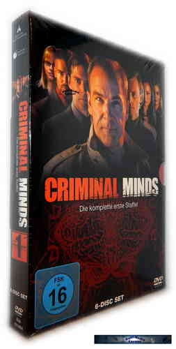 Criminal Minds - Die komplette Staffel/Season 1 [DVD]