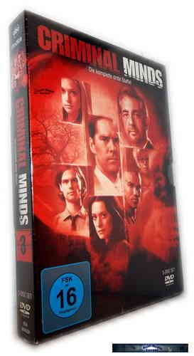 Criminal Minds - Die komplette Staffel/Season 3 [DVD]
