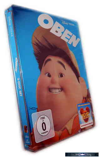 Oben - Up - limited Steelbook 2-Disc  [Blu-Ray] Pixar, Walt Disney