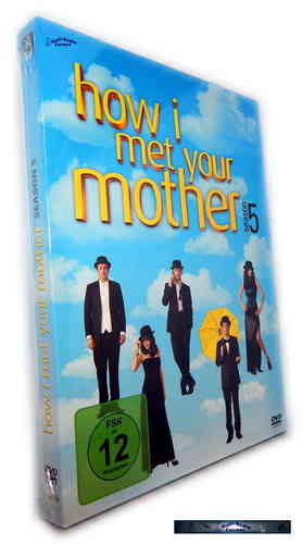 How I met your mother - Die komplette Staffel/Season 5 [DVD]