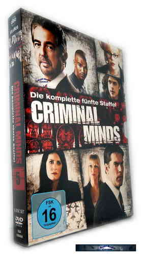 Criminal Minds - Die komplette Staffel/Season 5 [DVD]