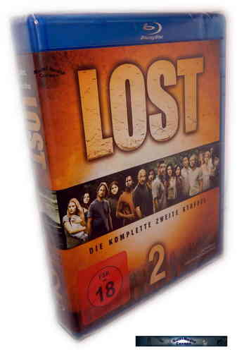 Lost - Die komplette Staffel/Season 2 [Blu-Ray]