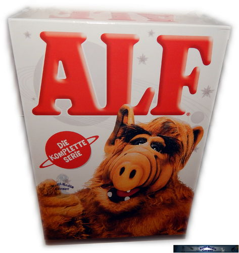 ALF - Die komplette Serie - Staffel 1,2,3,4 [DVD] 16-Disc Box-Set