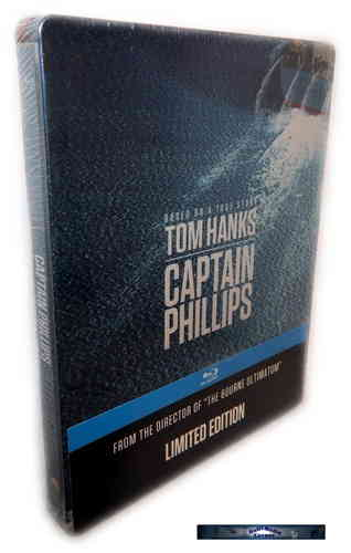 Captain Phillips - limited Steelbook [Blu-Ray]