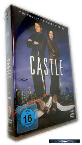 Castle - Die komplette Staffel/Season 1 [DVD]