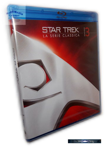 Star Trek: Raumschiff Enterprise (Original) Die komplette Staffel/Season 3 [Blu-Ray] remastered