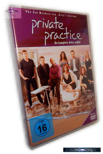 Private Practice - Die komplette Staffel/Season 3 [DVD]