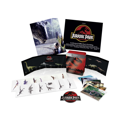 Jurassic Park - Ultimate Trilogy - limited Collector´s Tin [Blu-Ray]