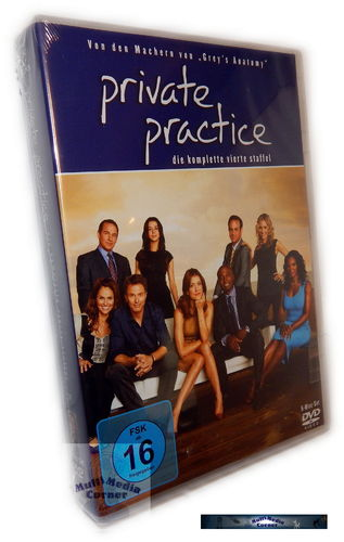 Private Practice - Die komplette Staffel/Season 4 [DVD]