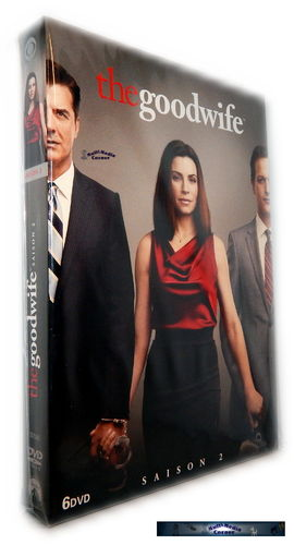 The Good Wife - Die komplette Staffel/Season 2 [DVD]