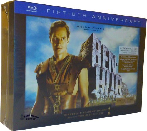 Ben Hur - 50th Anniversary 3-Disc Ultimate Collector´s Edition [Blu-Ray]