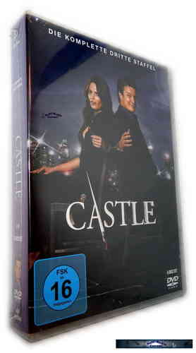 Castle - Die komplette Staffel/Season 3 [DVD]