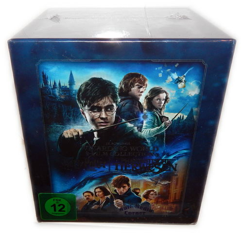 Harry Potter Komplett Teil 1-7.2 + Phantastische Tierwesen [Blu-Ray] Steelbook