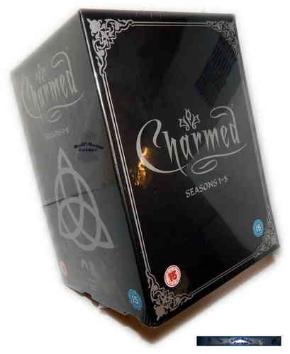 Charmed Komplettbox - Staffel/Season 1,2,3,4,5,6,7+8 [DVD]