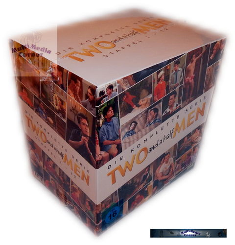 Two and a half Men Komplettbox - Staffel 1,2,3,4,5,6,7,8,9,10,11,12 [DVD]