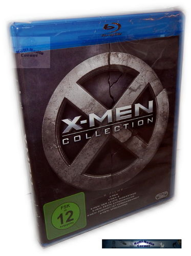 X-Men 1,2,3,4,5,6 (1-6) Collection [Blu-Ray]