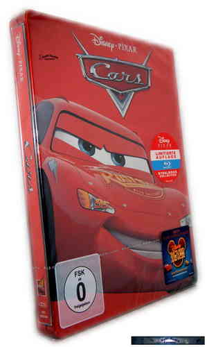 Cars - limited Steelbook Edition [Blu-Ray] Pixar, Walt Disney