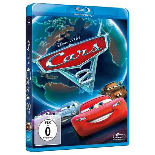 Cars 2 [Blu-Ray] Pixar, Walt Disney
