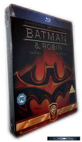 Batman & (und) Robin [Blu-Ray] limited Steelbook (Deutscher Ton)