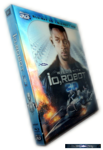 I Robot 3D + 2D [Blu-Ray] Lenticularcover