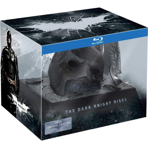 Batman - The Dark Knight Rises limited Edition - Batman Maske [Blu-Ray]
