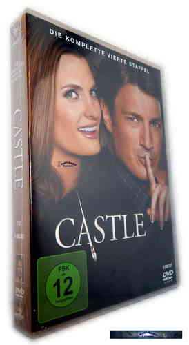 Castle - Die komplette Staffel/Season 4 [DVD]