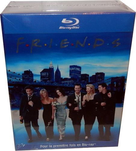Friends - Die komplette Serie [Blu-Ray] Staffel 1,2,3,4,5,6,7,8,9,10 (Deutscher Ton)