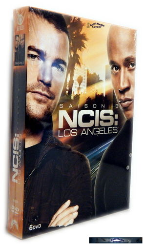 NCIS Los Angeles (L.A.) - Die komplette Staffel/Season 3 [DVD]