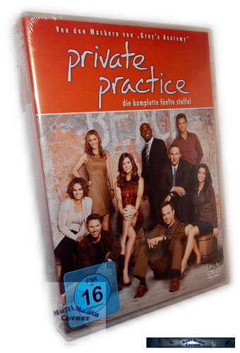 Private Practice - Die komplette Staffel/Season 5 [DVD]