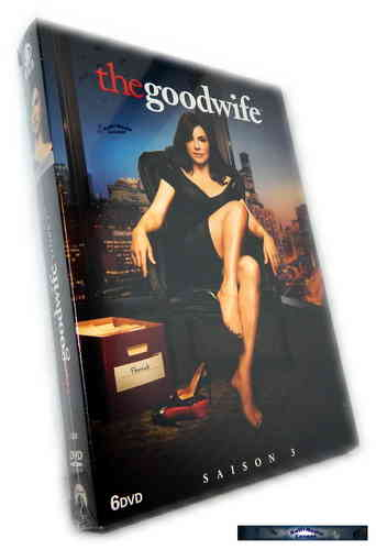 The Good Wife - Die komplette Staffel/Season 3 [DVD]