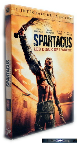 Spartacus Gods of the Arena - Die komplette Staffel/Season [DVD] uncut!