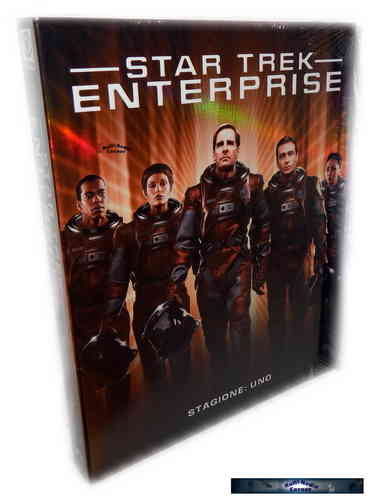 Star Trek Enterprise - Die komplette Staffel/Season 1 [Blu-Ray]