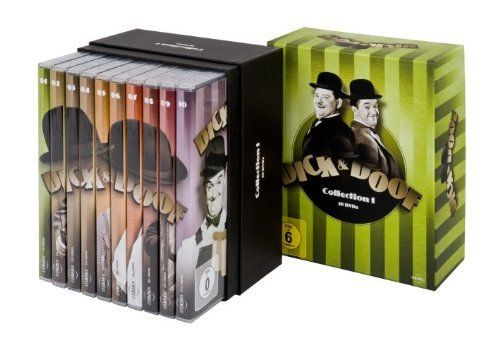 Dick & (und) Doof Collection 1 [DVD] 10-Disc Laurel & Hardy