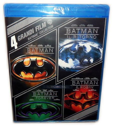 Batman (1,2,3,4) Collection [Blu-Ray] Box-Set (Deutscher Ton)