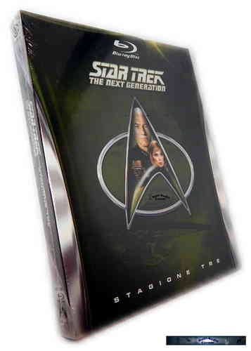 Star Trek The next Generation (TNG) Staffel/Season 3 [Blu-Ray]