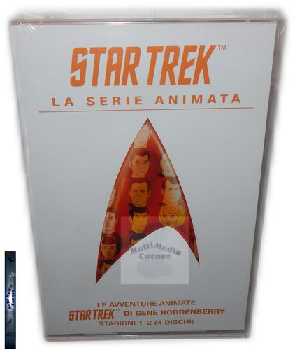Star Trek The Animated Series (Zeichentrick) Staffel/Season 1+2 [DVD] (Deutscher Ton)
