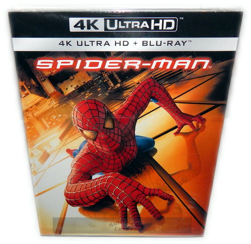 Spider-Man [4K UHD + Blu-Ray] 4K Ultra HD