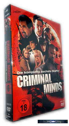 Criminal Minds - Die komplette Staffel/Season 6 [DVD]