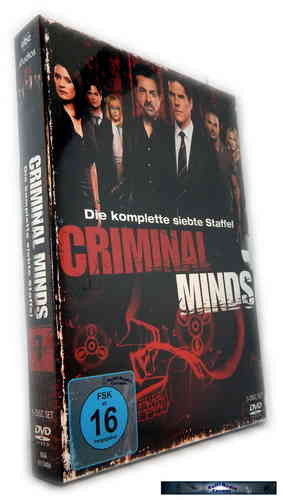 Criminal Minds - Die komplette Staffel/Season 7 [DVD]