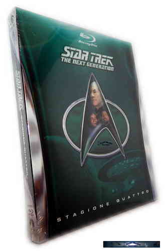 Star Trek The next Generation (TNG) Staffel/Season 4 [Blu-Ray]