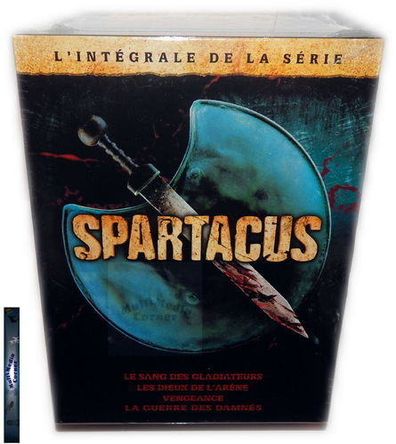Spartacus Komplettbox inkl. War of the Damned [DVD] uncut (Deutscher Ton)