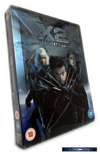 X-Men 2 - limited Steelbook Edition (geprägt) [Blu-Ray]