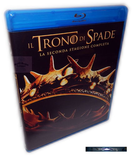 Game of Thrones - Die komplette Staffel/Season 2 [Blu-Ray] Import, Deutsch(er) Ton