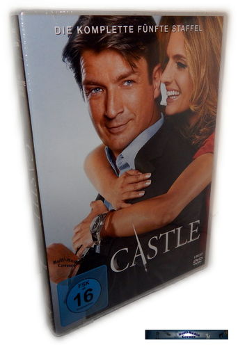 Castle - Die komplette Staffel/Season 5 [DVD]