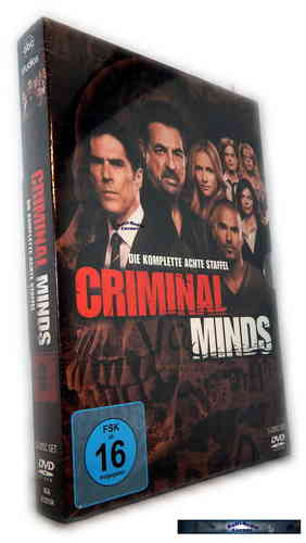 Criminal Minds - Die komplette Staffel/Season 8 [DVD]