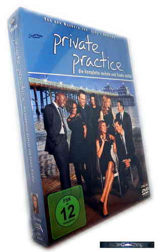 Private Practice - Die komplette Staffel/Season 6 [DVD]