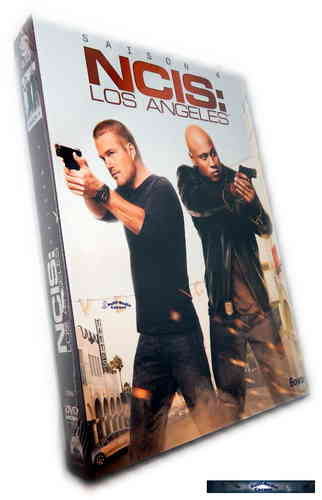 NCIS Los Angeles (L.A.) - Die komplette Staffel/Season 4 [DVD]