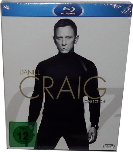 James Bond 007 - Daniel Craig Collection [Blu-Ray] inkl. Spectre