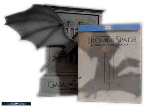 Game of Thrones - Die komplette Staffel/Season 3 [Blu-Ray] Drachenbox