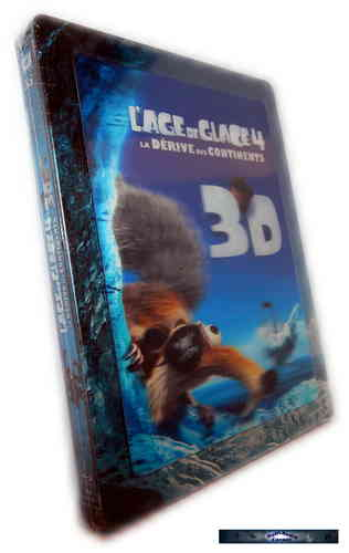 Ice Age 4 3D - limited Steelbook [Blu-Ray] inkl. Lenticular Cover